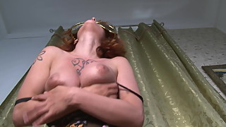 Real Housewife for money Striptease Big Insane Natural Tits