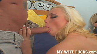 Your wife needs more dick than you can provide