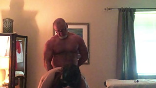 Wife takes huge strapon cock while sucking Shane diesel d
