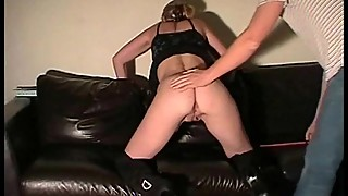 Amateur Spanking Of Dutch Housewife In Gagged Domination and Corporal Punishment