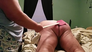 Wife Spanking Husband