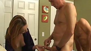 Husband and wife fuck friend