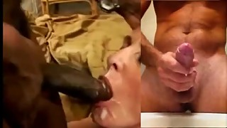 HYPNO#2 Cuck wife swallows / Hubby jerk off