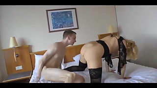 Young boy fucks my wife