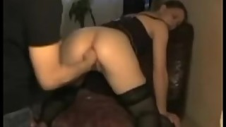 Hot Wife Bends Over And Gets Fisted