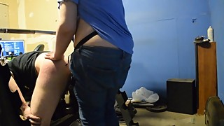 Wife Pegging Husband after getting pregnant.