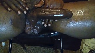 BBC Talking Dirty W/ Deep Voice about uncut Dick Fucking Your Wife Pussy 3