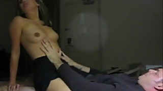 wife fuck and cum with friend