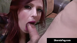 Soldier's Wife Shanda Fay Works Her Captain's Cock!