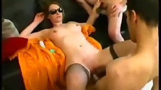 french husband sharing his wife