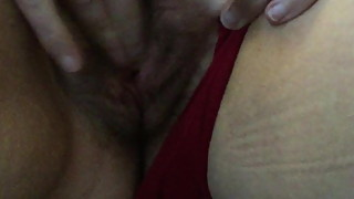 Red Panties, Big Orgasm!