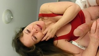 Busty Nympho Wife Spanks my Cock during Blowjob - more at PornWebCamZ.com