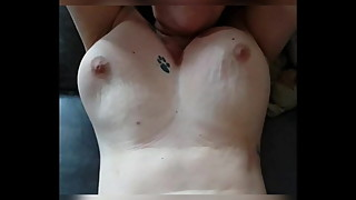 Keumy's wife, fucking, bouncing tits in slow motion