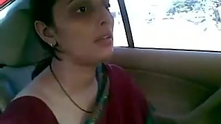 Indian house wife car mms