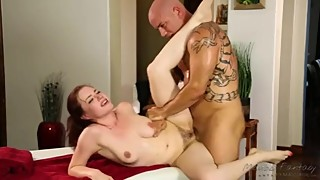 BLINDFOLD WIFE MASSAGE