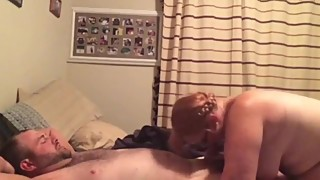 Wife fucks his boss on business trip