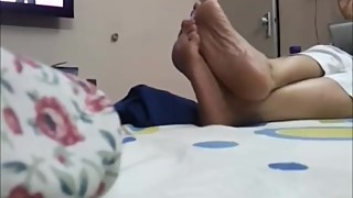 Candid Indian Wife her sole3!