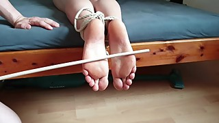 Bastinado for my wife 01