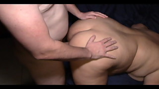 Wife getting fucked by bull