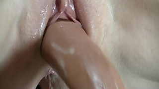 Mature Skinny Wife FuckingMachine Sex dildo Machine