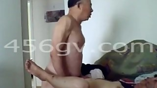 Chinese old Man wife110