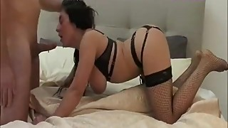 Hot Wife Cheating On Husband While Hes At Work in Lingerie