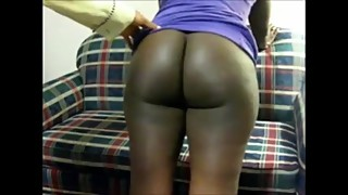 Ebony wife spanked with the belt by her husband