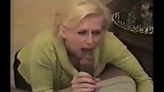 Southern white wife fucks a young black man while husband fi