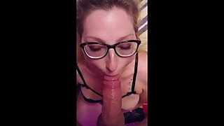 Squirtmilfandmr: Wife gets fucked and sucks hubby to facial
