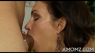 Wet mature dirty cleft gets spoiled