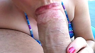 Outdoor Tropical Blowjob