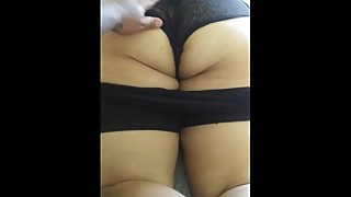 Bbw Pawg Wife Milf ass on bed