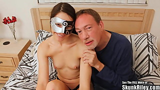 Thin Masked Wife Fucks Big Black Cock