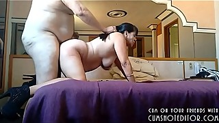 Chubby MILF Loves Taking It From Behind