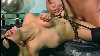 Carl fucked blond Leather-Kitty