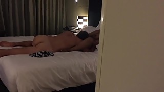 Indian wife fucked by foreigner moaning and while husband records