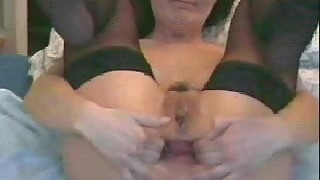 nice wife anal spread