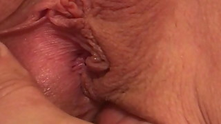 Up close pussy play with ex wife