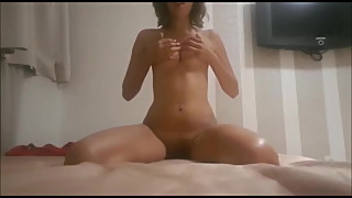 Spanish ex-wife Lindara playing with herself