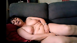 wife dildo couch