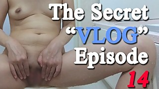 Japanese wife's bath time - The Secret a€?VLOGa€? Episode 14