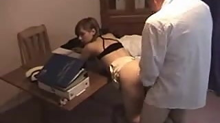 wife fucking in office