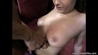 Cheating Housewife Goes BBC