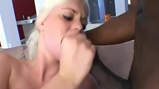 BLONDES WIFE HARD FUCKING BLACK AND WHITE MAN