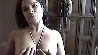 Michelle Bickers, Indian whore sucks cock and ears cum!