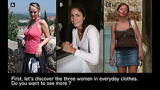 Make your choice #3 : which of these 3 women would you fuck?
