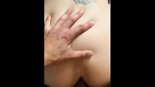 POV Doggystyle with sexy wife