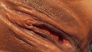 Squirt fuck creampie finish