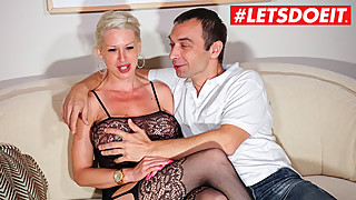 LETSDOEIT - German Amateur Couple Makes A Sextape For Fun