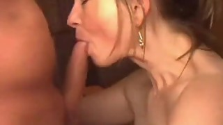 Wife giving wonderful blowjob and swallow all cum!!!!